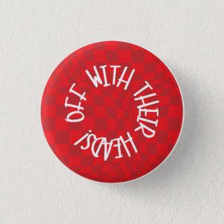 Badge Rond 2,50 Cm Alice au pays des merveilles - insigne - reine de