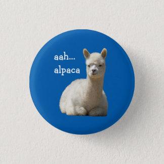 Badge Rond 2,50 Cm Alpaga de bouton d'alpaga aah