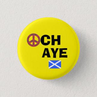Badge Rond 2,50 Cm Anti insigne nucléaire de l'indépendance écossaise