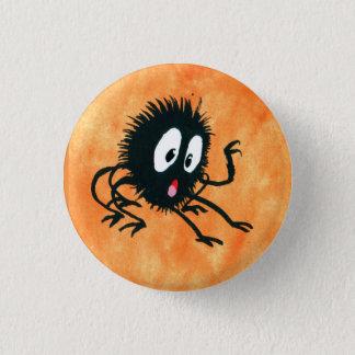 Badge Rond 2,50 Cm Araignée Spooked !