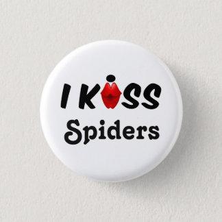 Badge Rond 2,50 Cm Araignées de baiser du bouton I