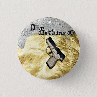 Badge Rond 2,50 Cm Arme à feu Safty de goupille de l'habillement Co