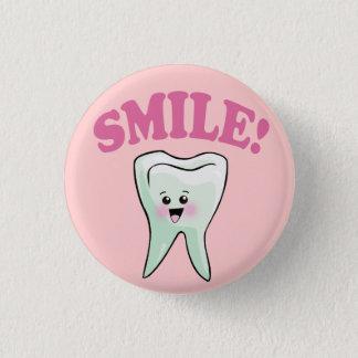 Badge Rond 2,50 Cm Art dentaire drôle