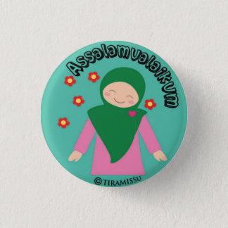 Badge Rond 2,50 Cm Assalamualaikum