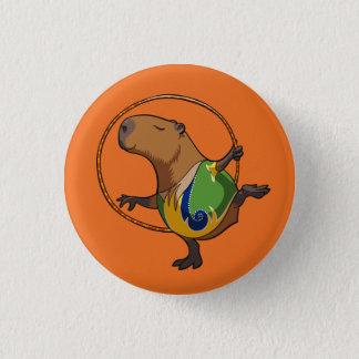 Badge Rond 2,50 Cm Bande dessinée mignonne de cercle de gymnastique