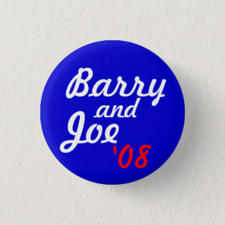 Badge Rond 2,50 Cm Barry et Joe '08 - customisé