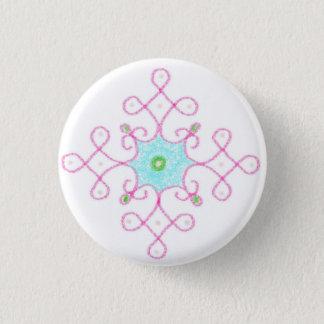Badge Rond 2,50 Cm bénédictions de diwali