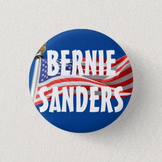 Badge Rond 2,50 Cm Bernie courant pour le bouton du Président drapeau