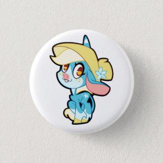 Badge Rond 2,50 Cm Billie sur un bouton