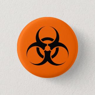 Badge Rond 2,50 Cm Biohazard