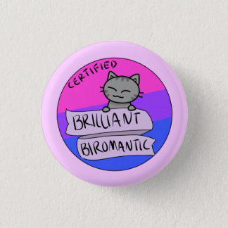 Badge Rond 2,50 Cm Biromantic brillant