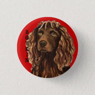 Badge Rond 2,50 Cm Bloc de couleur d'épagneul de Boykin