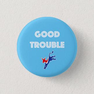 Badge Rond 2,50 Cm Bon âne de problème rond