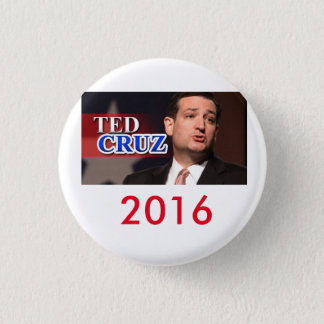 Badge Rond 2,50 Cm Bouton 2016 de Ted Cruz Pinback