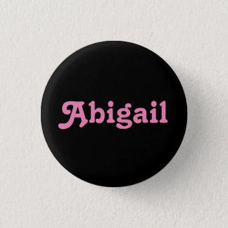 Badge Rond 2,50 Cm Bouton Abigaïl