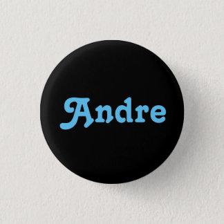 Badge Rond 2,50 Cm Bouton André