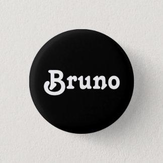 Badge Rond 2,50 Cm Bouton Bruno