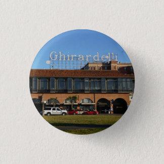 Badge Rond 2,50 Cm Bouton carré de San Francisco Ghirardelli Pinback