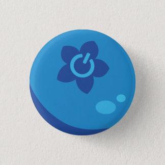 Badge Rond 2,50 Cm Bouton de baie de médias