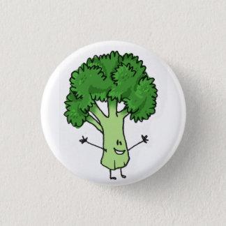 Badge Rond 2,50 Cm Bouton de brocoli