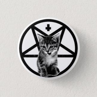 Badge Rond 2,50 Cm Bouton de chaton de pentagone étoilé