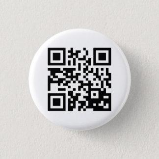 Badge Rond 2,50 Cm Bouton de code de Meme QR