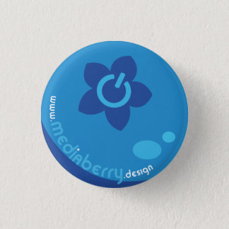 Badge Rond 2,50 Cm Bouton de conception de baie de médias