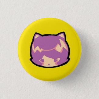 Badge Rond 2,50 Cm bouton de curiosité d'emoji