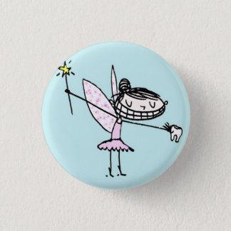 Badge Rond 2,50 Cm bouton de fée de dent