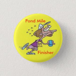 Badge Rond 2,50 Cm Bouton de finisseur de mille d'étang