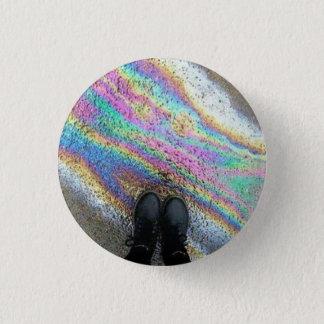 Badge Rond 2,50 Cm Bouton de flaque d'huile