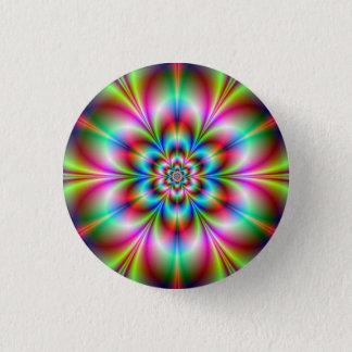 Badge Rond 2,50 Cm Bouton de flower power