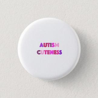 Badge Rond 2,50 Cm Bouton de gentillesse d'autisme