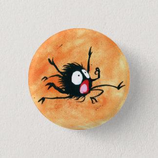 Badge Rond 2,50 Cm Bouton de Halloween ! Petite araignée Spooked !