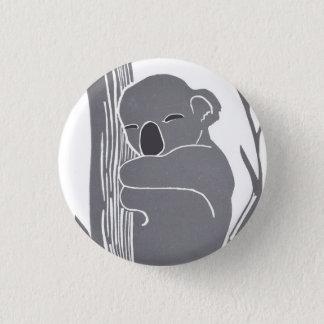Badge Rond 2,50 Cm Bouton de koala de sommeil