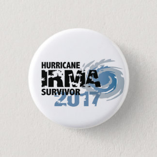 Badge Rond 2,50 Cm Bouton de la Floride 2017 de survivante d'Irma