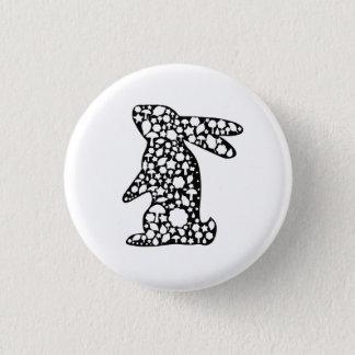 Badge Rond 2,50 Cm Bouton de lapin
