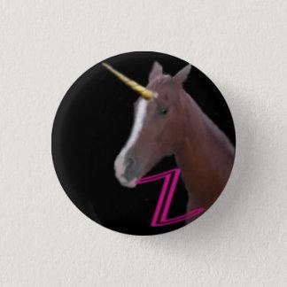 Badge Rond 2,50 Cm bouton de licorne