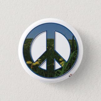 Badge Rond 2,50 Cm Bouton de paix de pissenlit