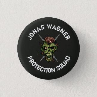 Badge Rond 2,50 Cm bouton de peloton de protection de wagner de Jonas