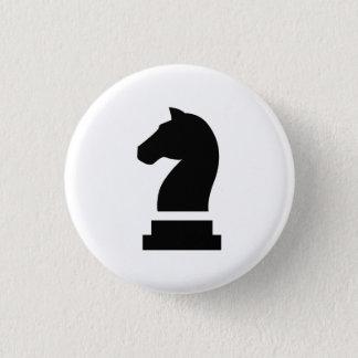 """Badge Rond 2,50 Cm Bouton de pictogramme de """"chevalier"""""""