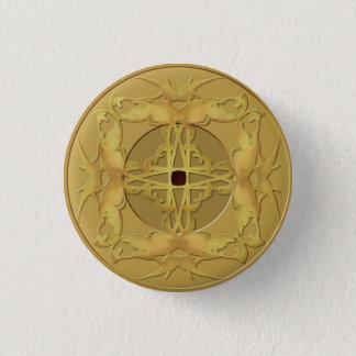 Badge Rond 2,50 Cm Bouton de pièce de monnaie de zen