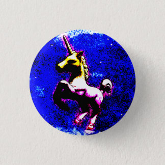 Badge Rond 2,50 Cm Bouton de Pin de revers de licorne (petit gâteau