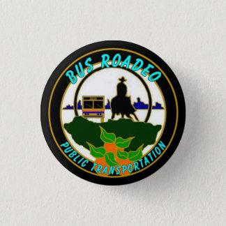 Badge Rond 2,50 Cm Bouton de rodéo d'autobus