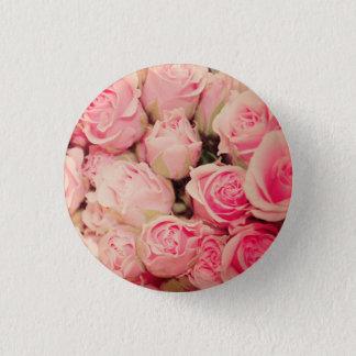 Badge Rond 2,50 Cm Bouton de rose de rose