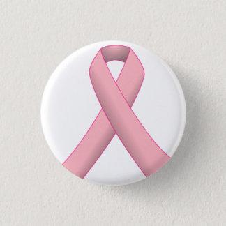 Badge Rond 2,50 Cm Bouton de ruban de cancer du sein