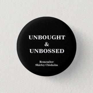 Badge Rond 2,50 Cm Bouton de slogan de Shirley Chisholm
