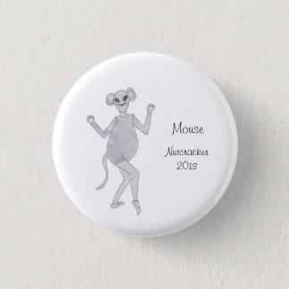 Badge Rond 2,50 Cm Bouton de souvenir de casse-noix de souris