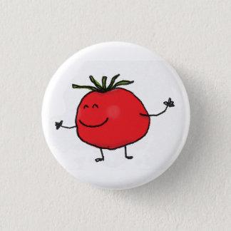 Badge Rond 2,50 Cm Bouton de tomate