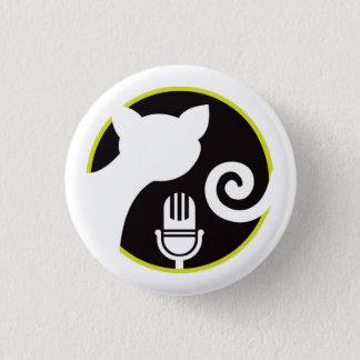 Badge Rond 2,50 Cm Bouton d'icône de chats de la Communauté